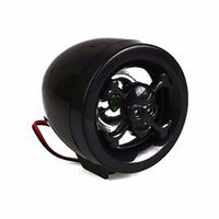 Wholesale Wholesale Audio System - motorcycle wheel bar audio fm radio stereo sound system amplifier CAR speaker mp3 black skull anti diefstal Fre DHL