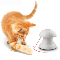 Wholesale Laser Electric Toy - Laser Funny Pet Cat Toys 2017 New Pet Supplies Electric Infrared laser light Cat Dog Toys