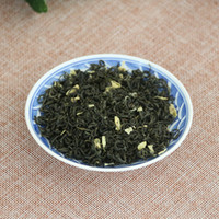 Wholesale 125g Mount Emei Maofeng Jasmine Green Tea China Organic Green Jasmine Tea Chinese Mao Feng Health Care