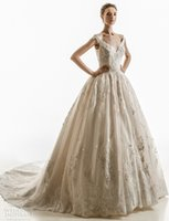 Ball Gown Wedding Dress for sale - off the shoulder ball gown wedding dresses 2018 jillian bridal cap sleeves sweetheart neckline heavily embellished bodice chapel train