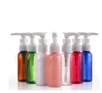 Wholesale assorted cosmetics for sale - Group buy 2017 new Long Mouth Pump Bottle Ml Empty Cosmetics Bottle Assorted Color Travel Bottle Bottling Emulsion