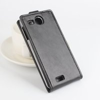 Wholesale Tcl Phone Covers - New ! Retro PU Leather Case For TCL S850 Luxury Vertical Magnetic Flip Phone Cover