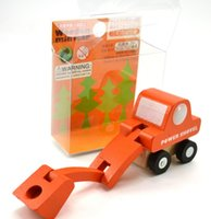 mini tahta trenler toptan satış-Komik Çocuk Hediye Eğitim Mini Araba Modeli Ahşap Oyuncak Küçük Ölçekli Eğitim Bebek Faydalı Zeka Sıcak Kek Gibi Satmak 48ym G1