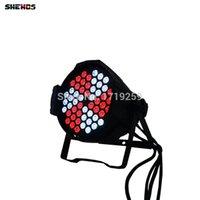Wholesale Lamp Rgb Dmx - Aluminum Alloy Led Par 54x9W RGB 3in1 LED Par Can for Party KTV Led Par Light DMX Stage Lights Business Lights DJ Lamp 54*9W