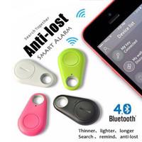 çocuklar için anti kayıp alarmları toptan satış-Itag Güvenlik Koruma Akıllı Anahtar Bulucu Etiketi Kablosuz Bluetooth Izci Çocuk Çanta Cüzdan Keyfinder GPS Bulucu Izci Anti-kayıp Alarm