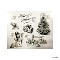 Wholesale Scrapbooking Card Making Supplies - Wholesale- A Snowman in Winter Transparent Clear Stamp Seal for Scrapbooking Photo Album Diary Card Making DIY Decoration Supply.