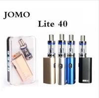 Wholesale Double E Cig Box - Jomo Lite 40w e cig box mod Lite 40w vapor mod kit 3ml tank built-in battery vs subox mini istick 40w Free DHL