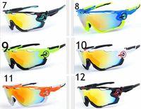 Wholesale New Bicycles - 2017 brand new hot Jawbreaker Polarized sun glasses 4pcs Lens sunglass women men sport bicycle sunglasses glasses 16 Colors