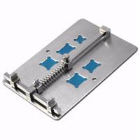 soldadura al por mayor-Base de la placa base del teléfono móvil Soporte de la placa base del accesorio de la placa de circuito del PCB con 5 clases de reparación de surcos del IC y soldadura