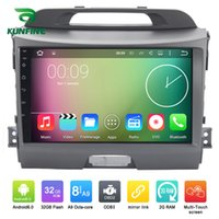 Octa Core 1024 * 600 Android 6.0 Car DVD GPS Navigazione Multimedia Player Stereo per Kia Sportage 2010 2011 2012 2013 Wireless Wifi Headuint