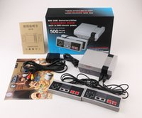Wholesale Wholesalers Game Console System - Mini NES TV Video Handheld Game Console Entertainment System Built-in 500 Classic Games For For Nes Games PAL&NTSC