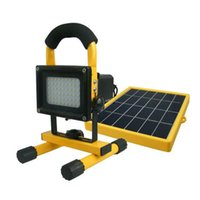 Wholesale Led Home Lighting Kit Solar - Wholesale- Portable Solar Generator Kits Home Outdoor Waterproof Lighting System Flood Light Fooldlight for Fishing Driving Hiking Camping