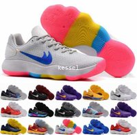 2017 New Hyperdunk Low EP Weave Knit Basketball Shoes para homens Alta qualidade Hyperdunks Sports Sneakers Trainers Mens Basket Ball Shoe US 7-12