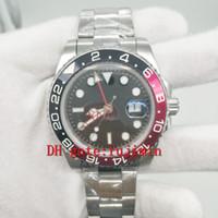 Wholesale Men Sapphire Bracelet - Mens luxury brand Watches ceramic beze 41mm size sapphire glass men watch black dial stainless steel bracelet AAA quality replicas watch 300