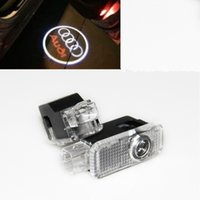 1pcs LED Projecteur Laser Porte voiture Bienvenue Emblème Light Shadow Logo Led Lamp Ghost pour Audi A3 A4 A6 A8 A6L R8 Q5 Q7 TT A5 A7 A4L A6L A1 Q3