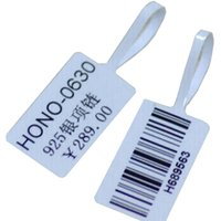 Wholesale Free Price Tags Print - Adhensive Heat Sensitive Printer Label Jewelry Store Printing Label Barcode Company Printing Price Tags 1Roll White Brand Tag Free Shipping