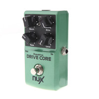 Wholesale Electric Guitar Multi Effects - Mini NUX Drive Core Pedal Electric Effect Pedal Mixture of Boost and Overdrive Sound True Bypass Guitar Guitar effects