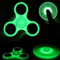 DHL Glow In the Dark ABS ri-Spinner Fidget Spielzeug EDC Hand Spinner Fast Bearings ADHD Childred Angst Stress Relief J-ZJ