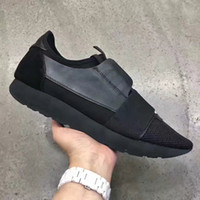 2017 fashion superstar SPORT LUXURY DESIGN BRAND DESIGNER flats Genuine Leather SNEAKERS MENS RUNNERS ALL black SHOES
