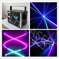 Wholesale Laser Ilda - New 2014 ILDA Full Color laser projector 2000mw RGB Full color dmx laser for party show dj equipment