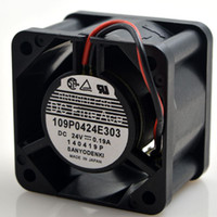 Wholesale Large 24v Fans - SANYO 109P0424E303 0.19A 4028 24V 4cm 4 cm large wind frequency converter fan