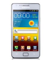 kamera-handy freischaltete gps großhandel-i9100 freigesetzter ursprünglicher Samsung GALAXIE SII S2 I9100 Handy Android 2.3 Wi-Fi GPS-Kamera 8.0MP verdoppeln den Kern, der aufgearbeitet wird