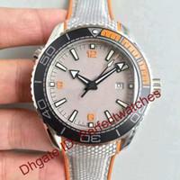 Wholesale Ks Men Mechanical Automatic - Luxury Brand Grey Dial Automatic Mens watch Transparent Case Back Arabic numerals Rubber Strap Mans master Fashion Sport watches