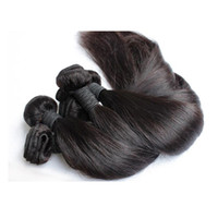 Wholesale Indian Hair Best Quality - Brazilian 8A Straight Hair Best Quality Malaysian Indian Peruvian Various Texture Human Hair Weft Best Quality Hair Weave Free Shipping