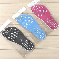 Wholesale f foot - 2018 Summer Soles Men Women Invisible Beach Shoes Adhesive Insole Waterproof Anti-skid Anti-cutting Sandals Foot Pad Feet Pads F-1