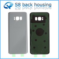 Wholesale Battery Cover Iphone Original - Original Quality Rear Back Housing Battery Glass Cover Door Case Replacement With Adhesive Sticker For Samsung Galaxy S8+ S8 Plus