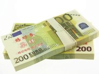 Wholesale 5 Euro Paper Money Notes Training Collect Learning Banknotes