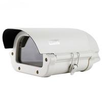 Wholesale Surveillance Camera Housing Outdoor - Outdoor Surveillance Security CCTV Camera Aluminum Metal Shield Housing for box camera