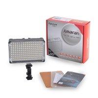 Wholesale Dslr Video Lighting - Aputure LED dslr camera LED Video light on-camera light bulb studio photography flat panel led video light with CRI 95+ bulbs