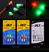 ferramenta de pesca flutua venda por atacado-Atacado-Eletrônico Pesca Flutua Drifting Tail LED Luz Eletrônica Enviar CR311 Bateria Night Fishing Tools Acessórios