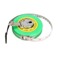 Wholesale Fiberglass Measuring Tape - Wholesale- 10M Fiberglass Measuring Tape Retractable Soft Metre Ruban Caliper Body A Flexible Rule Hand Tools For Measurement Tools