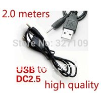 Wholesale Cable M1 - Wholesale- 2.0m 6FT 5V 2A USB Cable Lead Charger Power Supply for PIPO Max M1 M5 M7 M8pro M9 S1 S2 U1 U2