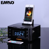 Wholesale Dock Station For Iphone Speaker - Wholesale- A9 Audio Music NFC Subwoofer Hifi Wireless Portable Speaker Charger Dock Station for iPhone 6 6s Plus 7 7s Plus SE Android Phone