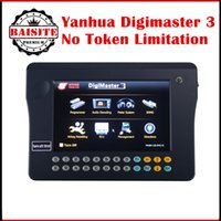 Wholesale Digimaster Price - 100% orginal OBD2 OBDII odometer correction tool Yanhua Digimaster 3 digimaster iii unlimited tokens with factory price free shiping via dhl