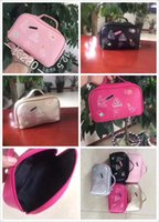 Wholesale makeupbag goodquality newstyle popularstyle LightPink Black Peach Silver Gold color