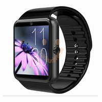 Wholesale Gt Smart - GT 08 Smartwatch Bluetooth Camera SIM TF Card Smart watch for Apple IOS Android Support Passometer 3 Colors By DHL Free