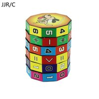 Wholesale Effective C - Wholesale- JJR C 2017 bright Effective New Design Children Education Learning Math Toys For Kids Puzzle