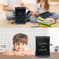 Wholesale Writing Pads Wholesale - Wholesale- 8.5 Inch LCD Writing Tablet Digital Drawing Tablet Handwriting Pads Portable Electronic Tablet Board ultra-thin Boogie Board