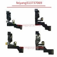 Wholesale Original Iphone Flex Cable - 10pcs Original 100%test working Front Camera for iPhone 6 6s 6 plus 6s plus Sensor Proximity Light Ribbon Flex Cable replacement