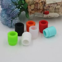 Wholesale Dip Tips - TFV8 drip tip Silicone Mouthpiece TFV8 TFV12 silicone drip tip Disposable Colorful Rubber test Dip Tips Fit TFV8 Big Baby TFV12 hottest
