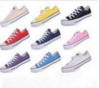 Wholesale Renben Shoes - 2017 Drop Shipping High-quality RENBEN Classic Low-Top & High-Top canvas Casual shoes sneaker Men's  Women's canvas shoes Size EUR 35-46