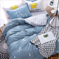 Wholesale Comforter King Set Simple - winter thicken simple pure cotton bed suit