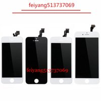 Wholesale mobile lcd touch screen - Best OEM AAA Mobile Phone Parts For iPhone 5 5C 5S 6 6 plus LCD Touch Screen Digitizer Display Replacement