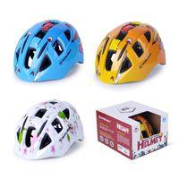 Wholesale Safety Children Helmet - Hot Sale Children's Safety Bicycle Helmet For Climbing Bike Protect Children Head 3 Colors Integrally-Molded Helmet