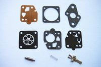 Wholesale Gaskets Kit - 2sets X Carb repair kit 9pcs set for MARUNAKA KAAZ Kawasaki TD40 TD24 TD25 TD33 TD48 TG20 TG24 TG33 Carburetor diaphragm rebuild gasket kits