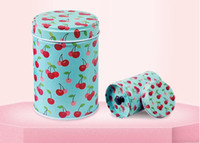 Wholesale Variety Gift Boxes - Beautiful double-covered cylindrical tea gift metal box candy box food metal tinplate variety style gift package